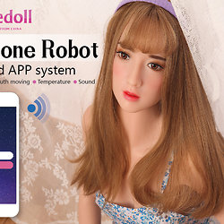 Z-Onedoll Silicone Robot with Z-Onedoll ZO-A21 head (robot variant)