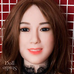 SY Doll head no. 107 (SY no. 107) - TPE