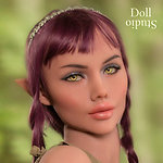 YL Doll elf head ›Bella‹ - TPE