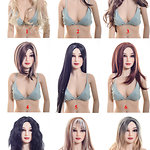 Wigs by Irontech Doll (2018)