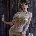 SY Doll SY-168 body style with no. 126 head (Shengyi no. 126) - TPE